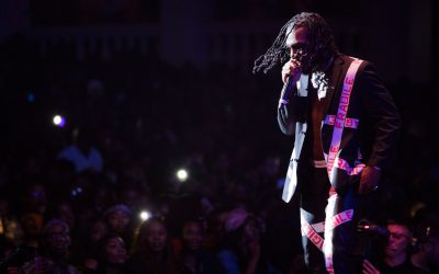 Burna Boy shuts down London Performance