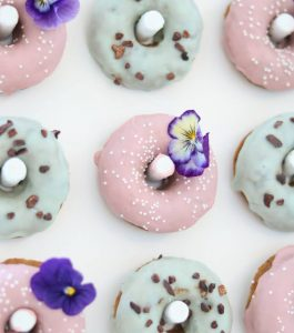 Earl Grey and Moroccan Mint Donuts