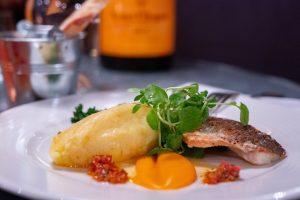 Aubaine Restaurant x Veuve Clicquot
