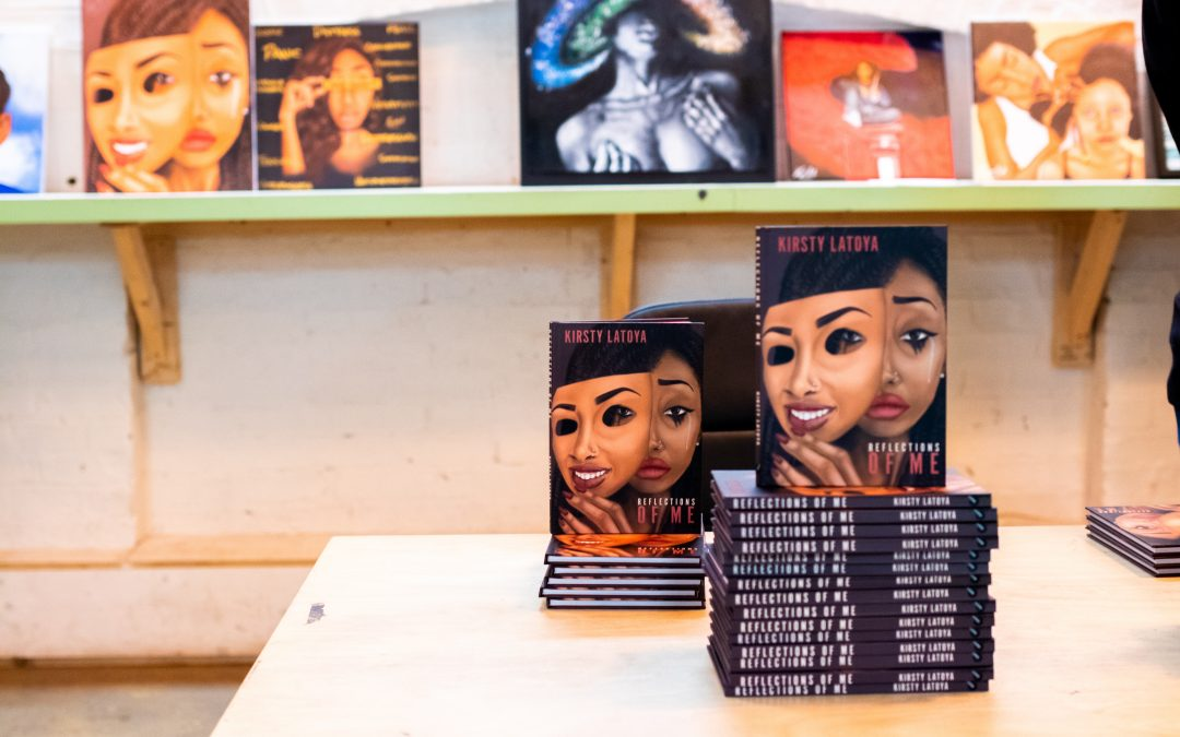 Kirsty Latoya on new book 'Reflections of Me', becoming Kirz Art and overcoming Depression