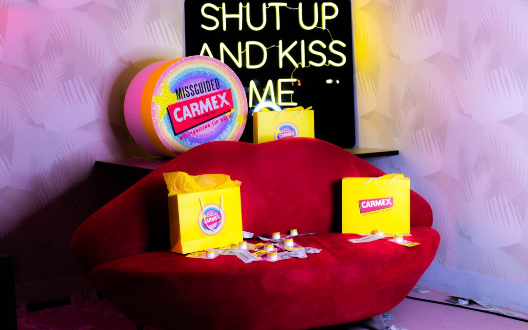 Carmex X Missguided: Keeping your lips nourished and wardrobe trendy