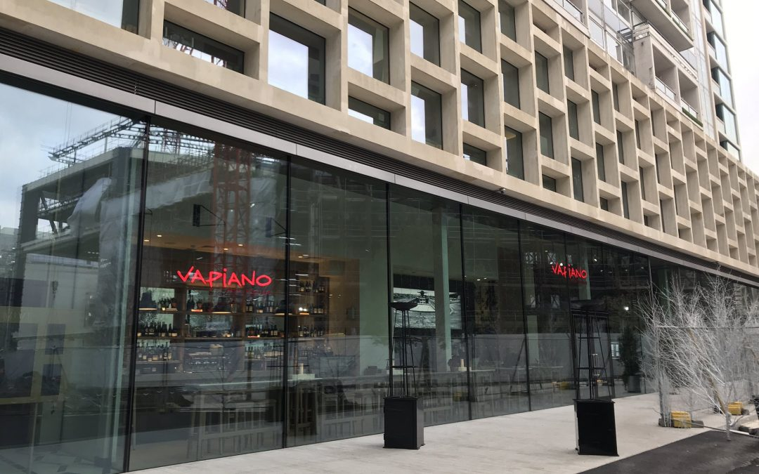 Vapiano has opened a store in Centrepoint