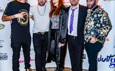 Christmas Party with the Uk Glamour Awards hosted by Spearmint Rhinos