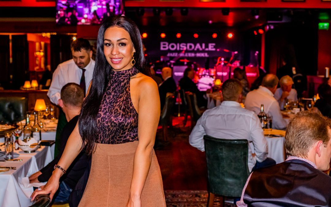 A Residency with Rebecca Ferguson at Boisdale, Canary Wharf