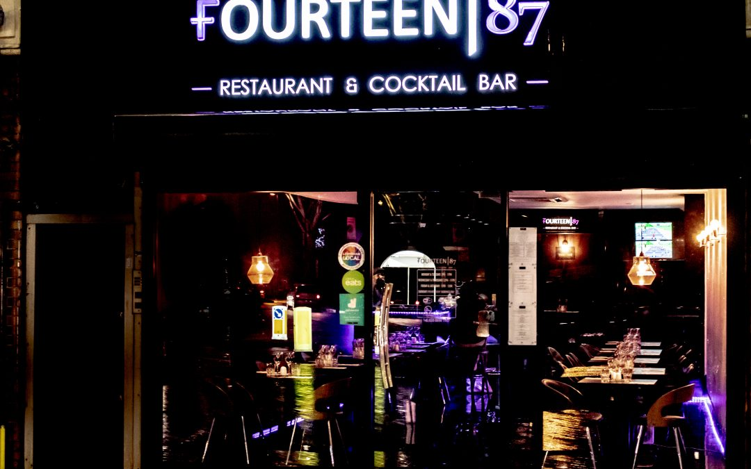 Fourteen 87 the Restaurant and Cocktail bar that makes you feel like Royalty