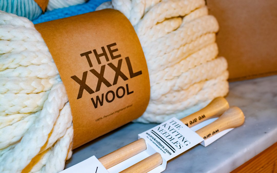 Beat the Winter Blues with a We Are Knitters 'Knit Kit'