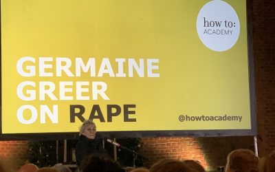 Germaine Greer on Rape
